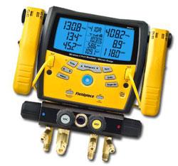 Fieldpiece SMAN460 Wireless 4-Port Digital Manifold with Micron Gauge