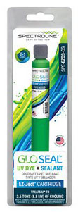 GLO-SEAL FLUORESCENT DYE AND SEALANT EZ-JECT CARTRIDGE FOR UP TO 2.5 TONS SPE-EZDS-CS