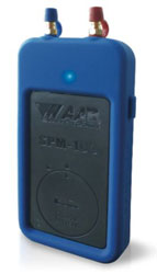 SPM-100 DUAL PORT MANOMETER WIRELESS AIR PRESSURE METER