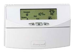 Honeywell T7351F2010 Commercial Programmable Thermostat with Integrated Humidty Sensor