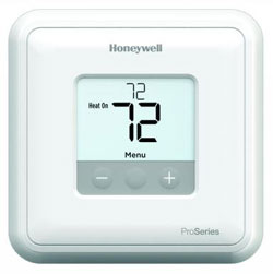 Honeywell TH1110D2009 T1 Pro non-programmable thermostat for 24 Vac systems, single stage heat and cool systems