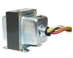 TR50VA015 TRANSFORMER 50VA, 480/277/240/208/120/24 VAC, CIRCUIT BREAKER, FOOT AND SINGLE THREADED HUB MOUNT