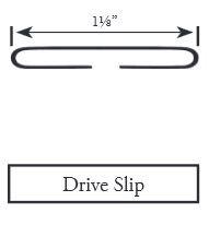 DRIVE SLIP 26GA 10' DSGA26 100'/BNDL