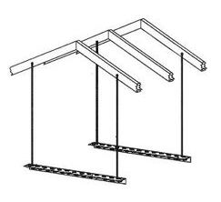 "A/H HANGING KIT 1/4"" 008-376 (5/CS)"