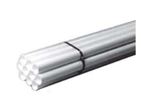 """8FT. WHITE PVC 2"""" PIPE (80FT BUNDLE ONLY), 10-8' PIECES 030290-010"""