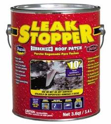 Leak Stopper Rubberized Roof Patch 3.6 Quarts