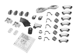 2-INLET INSTALLATION KIT, WHITE 040012
