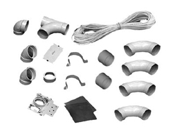 1-INLET INSTALLATION KIT, WHITE 040017