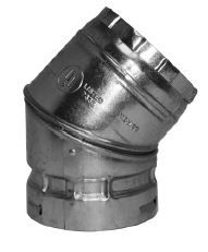 "GAS VENT 10R45-S 45* ELBOW 10"" ROUND TYPE B 2003623"