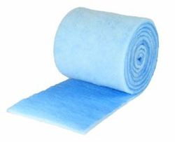 "BLUE/WHITE 25""X90'X1"" MEDIA POLYESTER MERV 7 PBR25-7P"