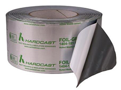"Hardcast Foil-Grip 1404-181BFX 3"" x 100 Foot Duct Tape 325804"