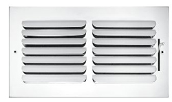 """Truaire 10"""" x 6"""" 401 1-Way Curved Blade Supply Register"""