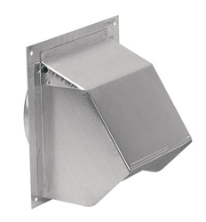 Broan 641 Wall Cap for 6 Inch Round Duct for Range Hoods and Bath Ventilation Fans