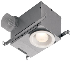 Broan 744 Recessed Fan/Light 70 CFM
