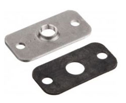 "A-345 FLANGE FOR MOUNTING A-301, A-302, A-307, A-308 OR 1/8"" PILOT TUBES"