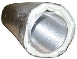 "A300 06"" T-FIN R6 UL AIR DUCT SILVER (48'/CS) 111323"