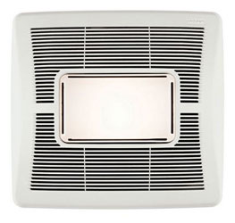 Broan A70L InVent Series Single-Speed Bathroom Exhaust Fan with Light 70 CFM 2.0 Sones