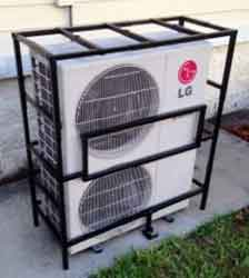 "AC-Guard ACMS Mini-Split Cage Expandable from 32""x32""x12"" to 57""x45""x16-1/2"""