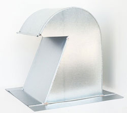 Barrel Tile Roof Vent 10 Inch Aluminum Extra Tall with Screen ARV-10XT