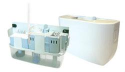 Aspen ASP-MW-UNI Mini White Univolt Mini-Split Condensate Pump Kit 100-250V
