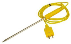 ATT100 K-TYPE LIQUID TEMPERATURE PROBE 6""
