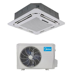 Midea Ductless DLFSCA/DLCSRA Single Zone Advantage Series Cassette System 24,000 Btu/h