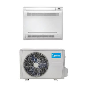 Midea Ductless DLFSFA/DLCSRA Single Zone Advantage Series Console System 24,000 Btu/h