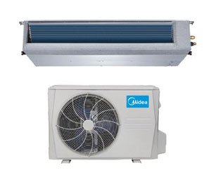 Midea Ductless DLFSDA/DLCSRA Single Zone Advantage Series Ducted System 12,000 Btu/h
