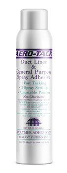 Polymer Adhesives AT-20 Aero-Tack Aerosol Duct Liner and General Pupose Adhesive 12 ounce Can