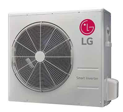LG LAU240HSV2 Art Cool Mirror Single Zone Inverter Outdoor Unit 24,000 Btu/h