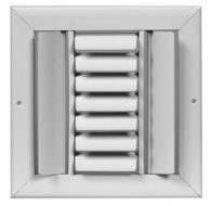 CBML-3ME 14X08 3WAY CURVED BLADE CEILING REGISTER WHITE