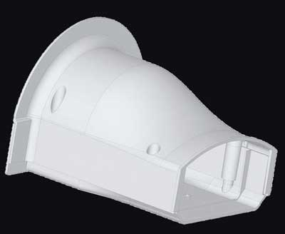 Cover Guard CGSTI Soffit Fitting
