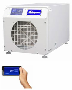 GeneralAire DH75 Whole House Dehumidifier with LCD Touch Screen & Wi-Fi Control 75 Pint