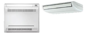 Midea Ductless DLFSFAH18XAK Advantage Series Indoor Console Floor/Ceiling Unit 18,000 Btu/h