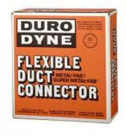 "FLEXIBLE DUCT CONNECTOR NEOPRENE BLACK 3"" X 3"" X 3"" 100' RL #10003 MFN333"