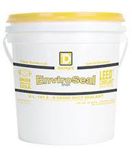 Ductmate ENVIROSEAL1 ENVIROSeal Commercial or Residential Grade Water Based Duct Sealant 1 Gallon Light Gray