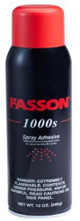 Fasson 1000S Spray Adhesive 12 ounce Can