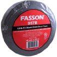 Fasson 957 2 Inch Black UL 181 B-FX Cloth Duct Tape