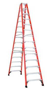 Louisville FM1414HD 14 Foot Twin Step Ladder