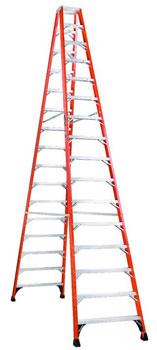 Louisville FM1416HD 16 Foot Twin Step Ladder