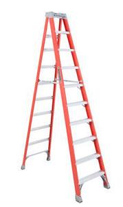 Louisville FS1510 10 Foot Fiberglass Step Ladder