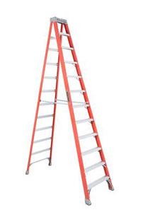 Louisville FS1512 12 Foot Fiberglass Step Ladder