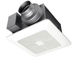 Panasonic FV-0511VK2 WhisperGreen Select Fan 50-80-100 CFM