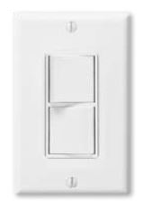 Panasonic FV-WCSW21-W Dual Function Switch 120V Single Gang White