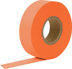 FLAG TAPE ORANGE 150'/RL FTO