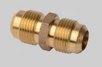 "FLARE UNION 1/4"" BRASS DU2-4"