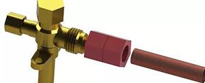 SmartLock FCMA1400 1/4 Inch Flare Connector Multi Angle (FCMA)