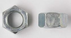 "FINISHED HEX NUT 1/2""-13 ZINC (50 COUNT JAR) 12FHNUSSZJ-50"