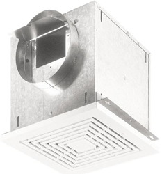 Broan L100 High Capacity Ceiling Mount Ventilation Fan, 109 CFM