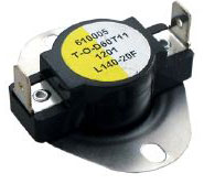 LIMIT SWITCH OPEN 140*F CLOSE 120*F DIFFERENTIAL 20*F L140